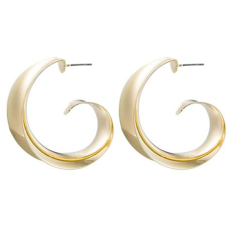 Fashion simple alloy earrings C creative NHLN171447's discount tags