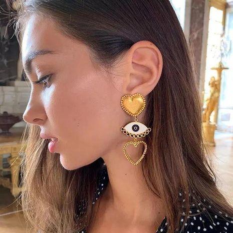 Fashion Eye Earrings Popular Creative Alloy Retro Christmas NHLN171451's discount tags