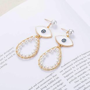 Pendientes de ojo de diablo minimalistas y elegantes NHOT171201's discount tags