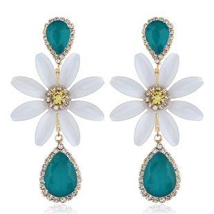 Pendientes minimalistas populares con tachuelas de flores NHVA171480's discount tags