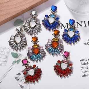 Pendientes de diamantes de aleación simples y elegantes  irregulares NHJQ171221's discount tags