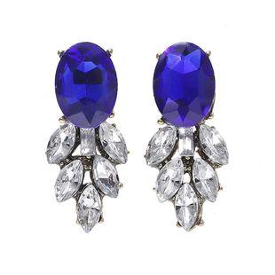 Pendientes de piedras preciosas engastadas con diamantes. NHJQ171232's discount tags