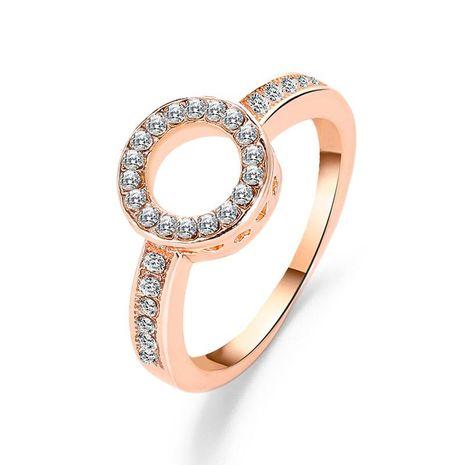 Elegant diamond circle ring geometry NHDP171398's discount tags