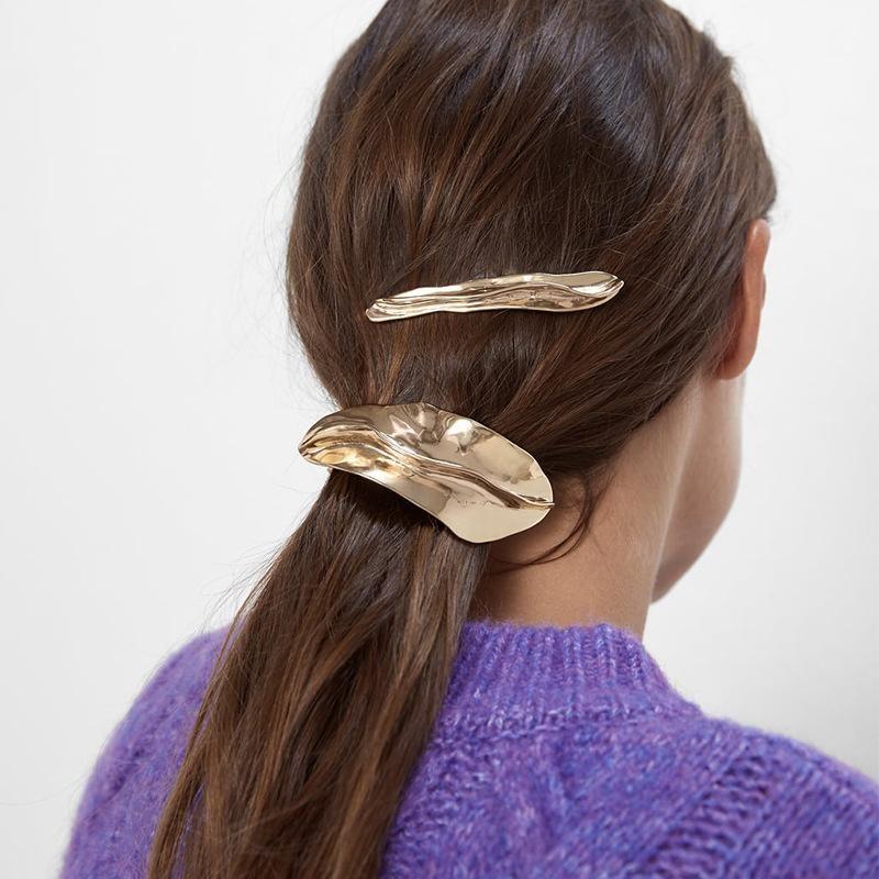 Fashion Joker Simple Atmosphere Alloy Shaped Hair Clip NHJQ171325