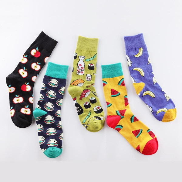 Food series trend in the tube socks sushi men and women cotton socks NHZG171610