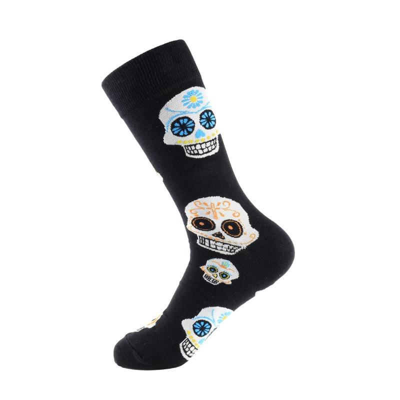 New men's skateboard socks cactus puzzle tide socks in stockings NHZG171612