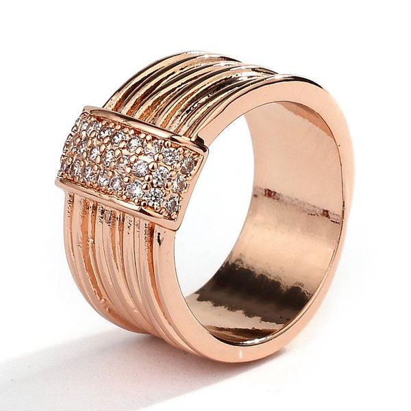 Fashion light luxury zircon ladies jewelry ring NHQL172083
