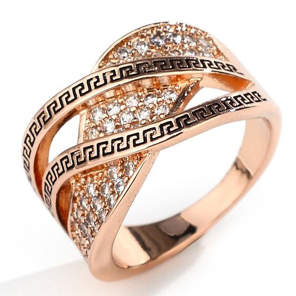Creative diamond retro ring women's fashion jewelry NHQL172100