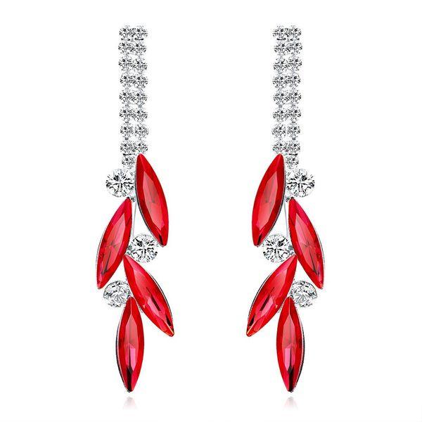Fashion lady earrings crystal NHDR172120
