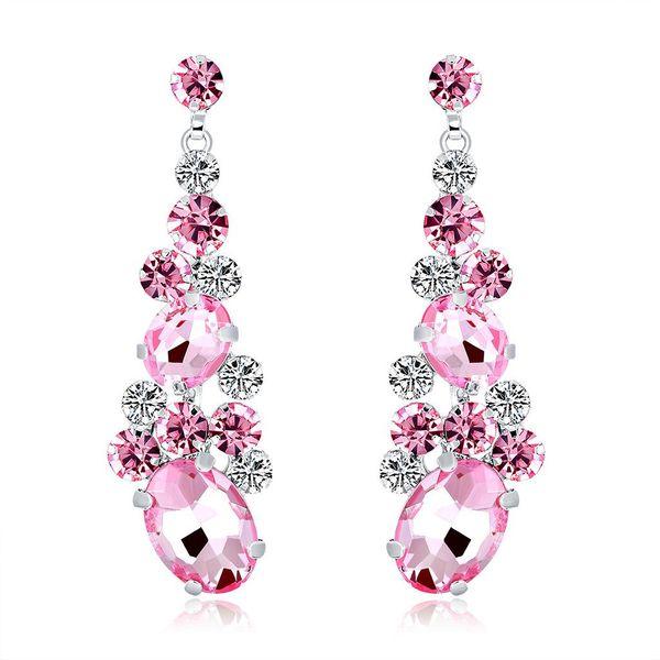 Pendientes de mujer nueva moda cristal NHDR172121