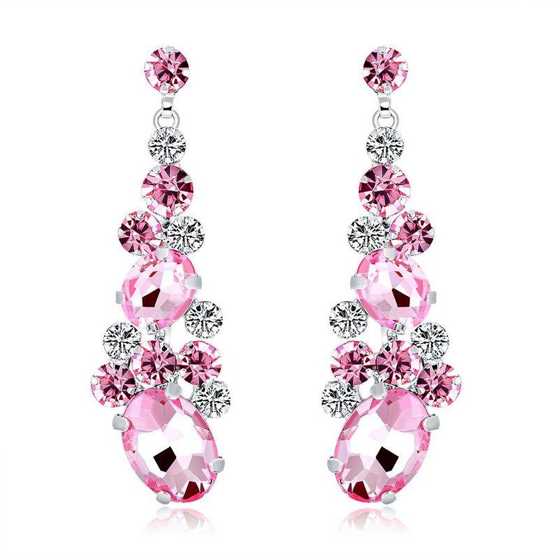 New fashion ladies earrings crystal NHDR172121