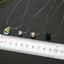 Moda irregular amante invisible lgrimas collar de circn NHGO171865