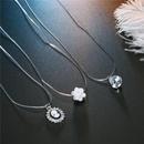 Cabeza de belleza de moda Stealth Fishline Zircon Necklace NHGO171914
