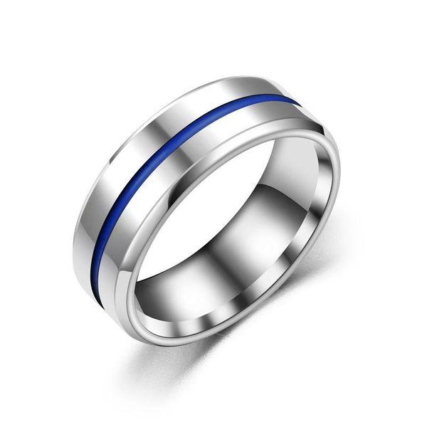 Fashion new three-color drop line ring NHTP172304
