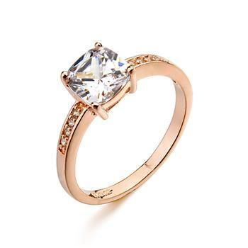 High-grade diamond super flash zircon ring retro fashion women's jewelry NHLJ172258