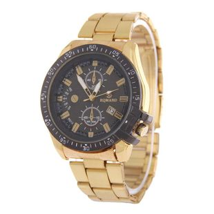Men's steel belt watch high-grade single calendar business watch men's alloy quartz watch NHSY172404's discount tags