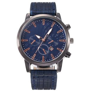 New men's single calendar casual digital Roman scale quartz watch belt watch NHHK172346's discount tags
