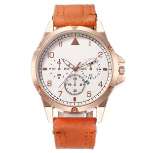 New men's single calendar casual digital scale quartz watch belt watch NHHK172351's discount tags