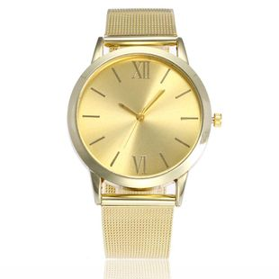 New gold mesh belt ladies watch smooth alloy mesh belt watch steel belt NHSY172399's discount tags