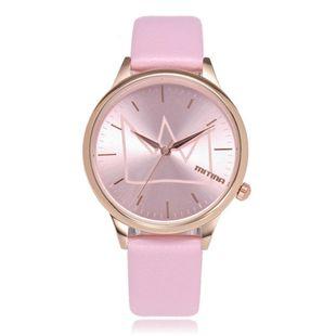 Fashion ladies watch simple rose gold shell quartz belt fashion watch NHSY172400's discount tags