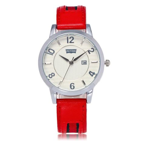 Fashion men and women watch sports quartz belt watch with calendar gift table NHSY172401's discount tags