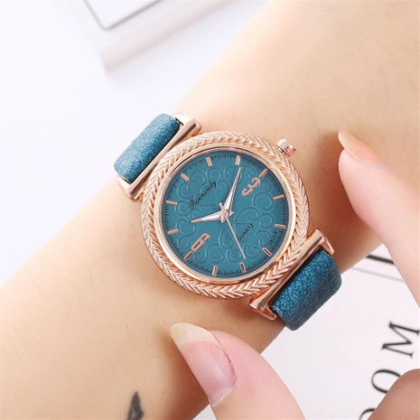 Ladies Heart Graphic Belt Casual Quartz Watch NHHK172356's discount tags
