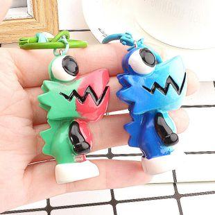New chameleon fashion keychain ladies bag key chain pendant NHCB172470's discount tags