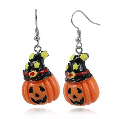 Original illustration style Halloween series earrings NHKQ172845's discount tags
