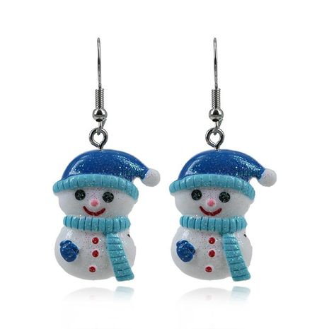 Hot Christmas Snowman Alloy Earrings NHKQ172846's discount tags