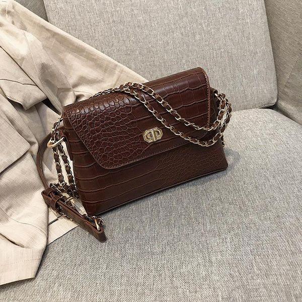 Bag female new messenger bag chain shoulder bag NHTC172823