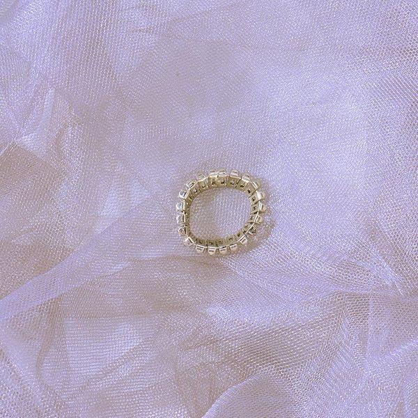 Europe and the United States big diamonds geometric men and women ring NHWF173026