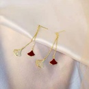 Long earrings female retro earrings gold high quality earrings NHWF172994