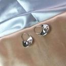 Stud earrings female lock earrings fashion vintage alloy metal NHWF173004