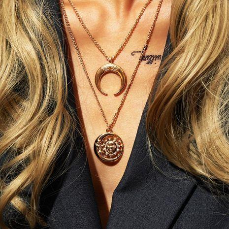 Nuevo Sun Goddess Collar Luna Colgante Suéter Cadena NHPJ173187's discount tags