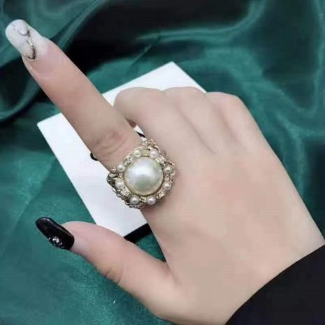 Vintage Baroque Ring Female Palace Wind Open Ring NHYQ173293's discount tags
