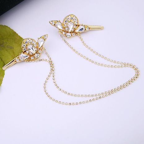 Fresh water drop diamond hair accessories NHQD173491's discount tags