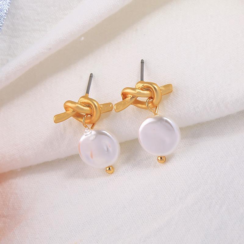 Earrings temperament geometric round earrings new ladies acrylic earrings NHQD173498