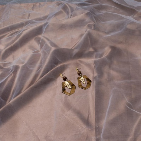 Pendientes de diamantes pendientes pendientes de acrílico joyas pendientes largos borla mujer NHWF173337's discount tags