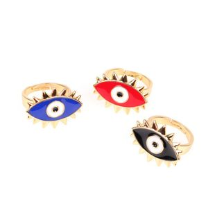 Open ring personality demon eyes NHPY173259's discount tags