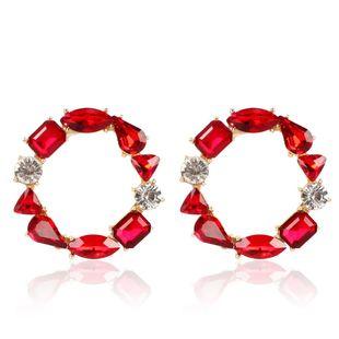 Bohemian ethnic style earrings fashion full diamond earrings earrings female NHCT173207's discount tags