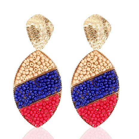 Earrings bohemian fashion retro rainbow series earrings NHCT173241's discount tags