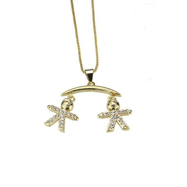 Fashion hot zirconium kid necklace NHBP155926