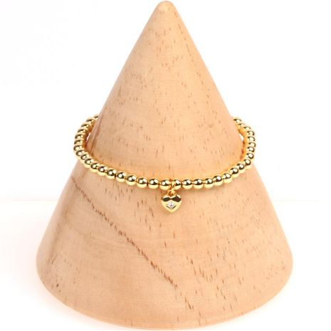 Womens Heart-Shaped Diamond Bracelets & Bangles NHPY155989's discount tags
