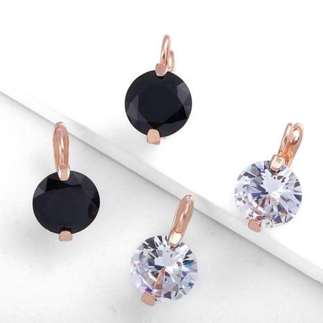 Womens Geometry Electroplating Alloy Soaring Earrings NHAS156006's discount tags