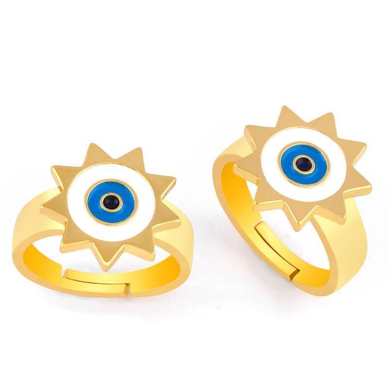 Fashion Drop Oil Lady Ring Jewelry NHAS173683
