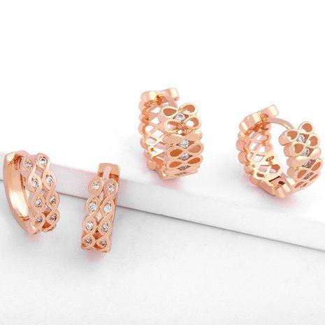 Zircon Earrings Women's Fashion Earrings Geometric Earrings Earrings NHAS173981's discount tags
