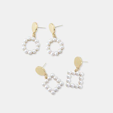 Best selling simple fashion pearl earrings earrings female NHQS173984's discount tags