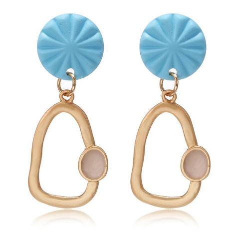 New irregular geometric metal earrings earrings niche fashion earrings female NHPF173969's discount tags