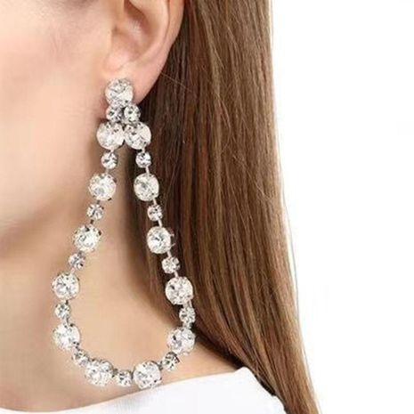 Fashion Geometric Drops Big Earrings Wild Earrings NHWK173858's discount tags