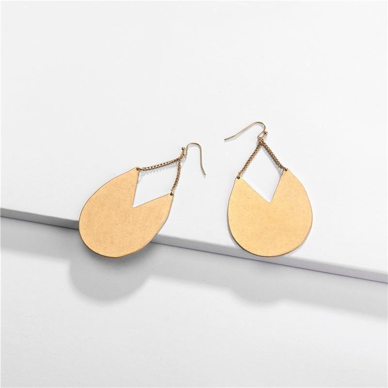 Earrings jewelry drop chain pendant female earrings new NHLU174101